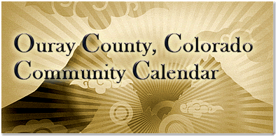 Ouray County Community Calendar